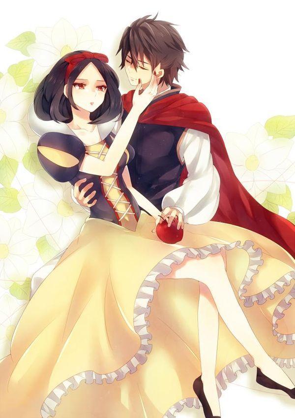 Snow White Anime Version #anime #manga