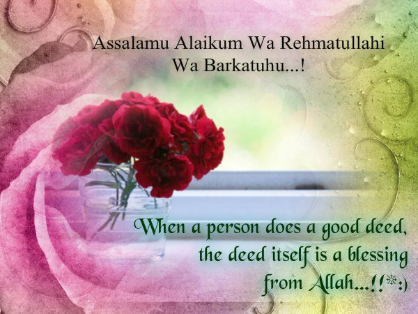 When A Person Does A #Good_Deed, The Deed Itself Is A