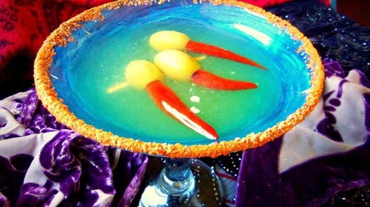 """Martini Picante Mexicano """"Dedos de Bruja"""" - QueRicaVida.com"""
