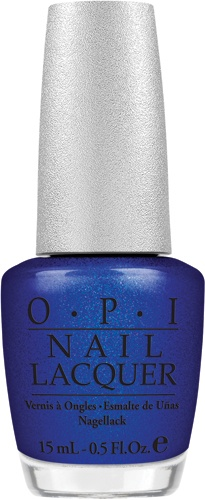 OPIs DS Magic would be the perfect shade for a Kentucky basketball game.