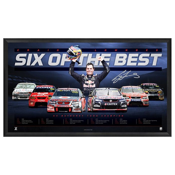 CRAIG LOWNDES 'PRINCE OF MT PANORAMA' SPORTSPRINT