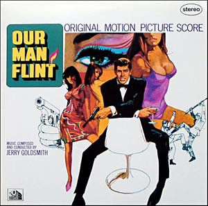 Jerry Goldsmith - Our Man Flint: buy LP at Discogs