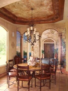 Mediterranean Home Trompe Lu0027oeil. Mediterranean HomesWall MuralsBreakfast WallsThe Eye