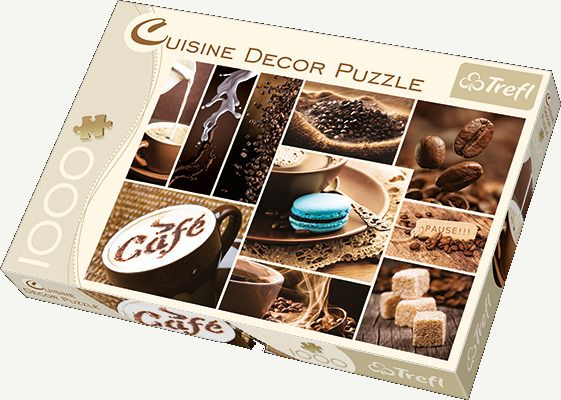 Puzzle Trefl 1000 el. 10359 Cuisine Decor - Kawa