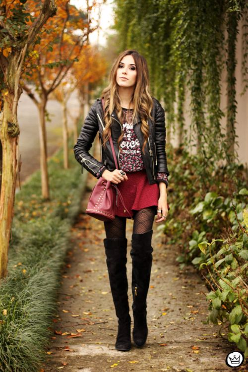 over knee boots  FashionCoolture