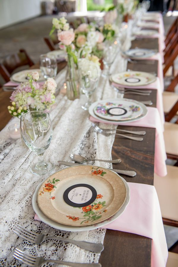 Shabby Chic Music Themed Wedding At Cedarwood Flowers Colors