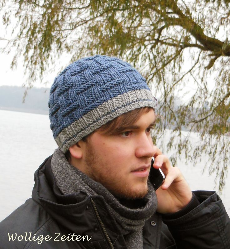 Wollige Zeiten: Männermütze Thjorge | Tejido | Pinterest | Crochet ...