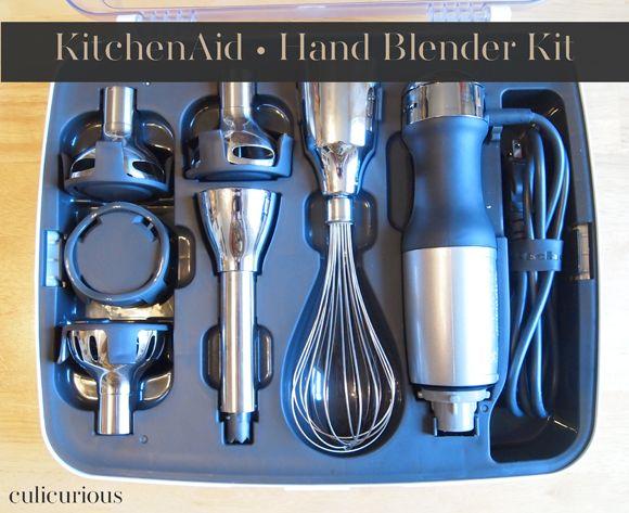 Kitchen Aid Hand Blender Kit...neat!