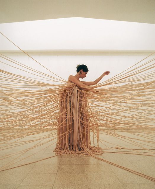 Nelly Agassi | Wall Dress, from Pallace of Tears, 2002, Museum of Art, Ein Harod