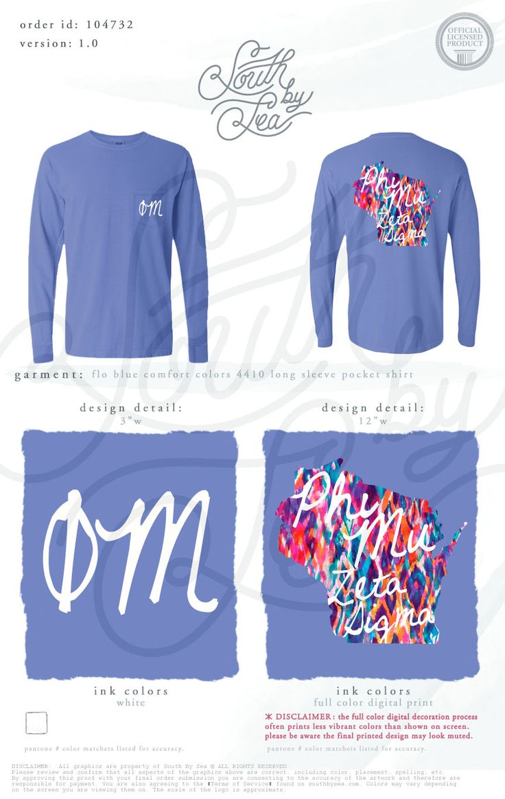 Phi Mu | Zeta Sigma | State T-Shirt Design | South by Sea | Greek Tee Shirts | Greek Tank Tops | Custom Apparel Design | Custom Greek Apparel | Sorority Tee Shirts | Sorority Tanks | Sorority Shirt Designs