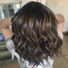 Chocolate balayage. Color by @monicagblush #hair #hairenvy #hairstyles #haircolor #brunette #balayage #highlights #newandnow #inspiration #maneinterest