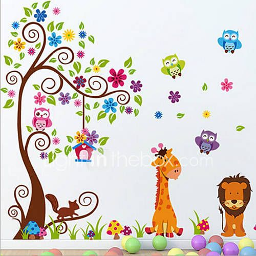 Animais / Botânico / Romance / Vida Imóvel / Moda / Floral / Fantasia Wall Stickers Autocolantes de Aviões para ParedeAutocolantes de de 3808413 2017 por €12.21