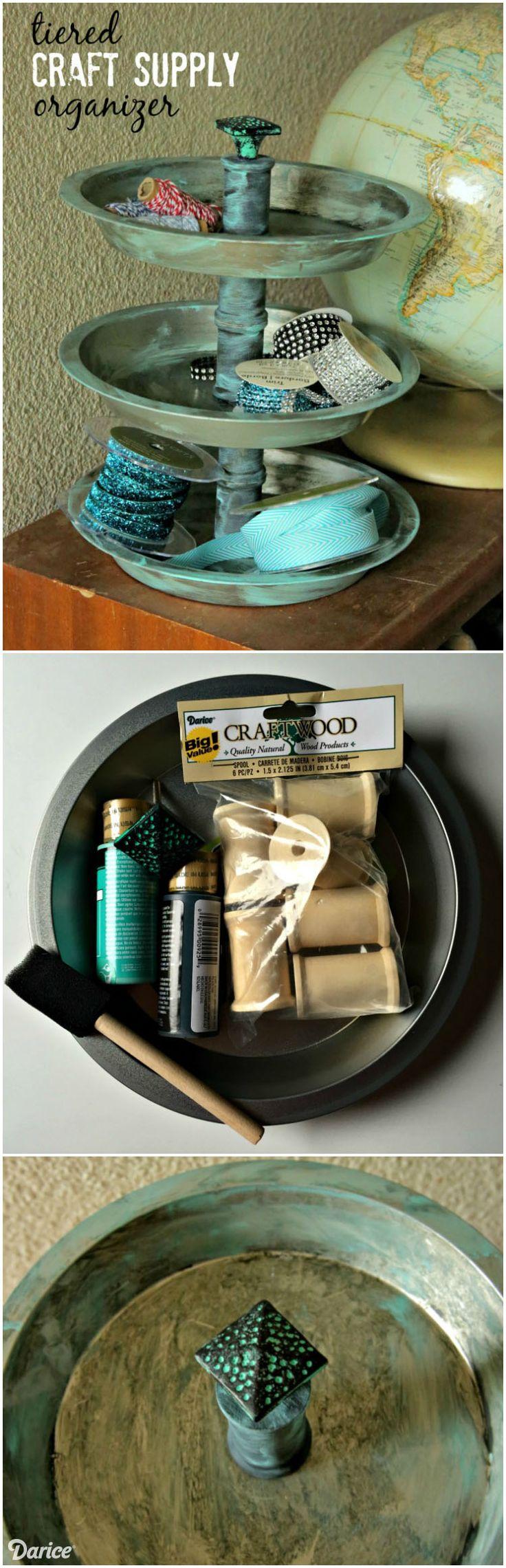 DIY Organizer for Craft Supplies – Darice