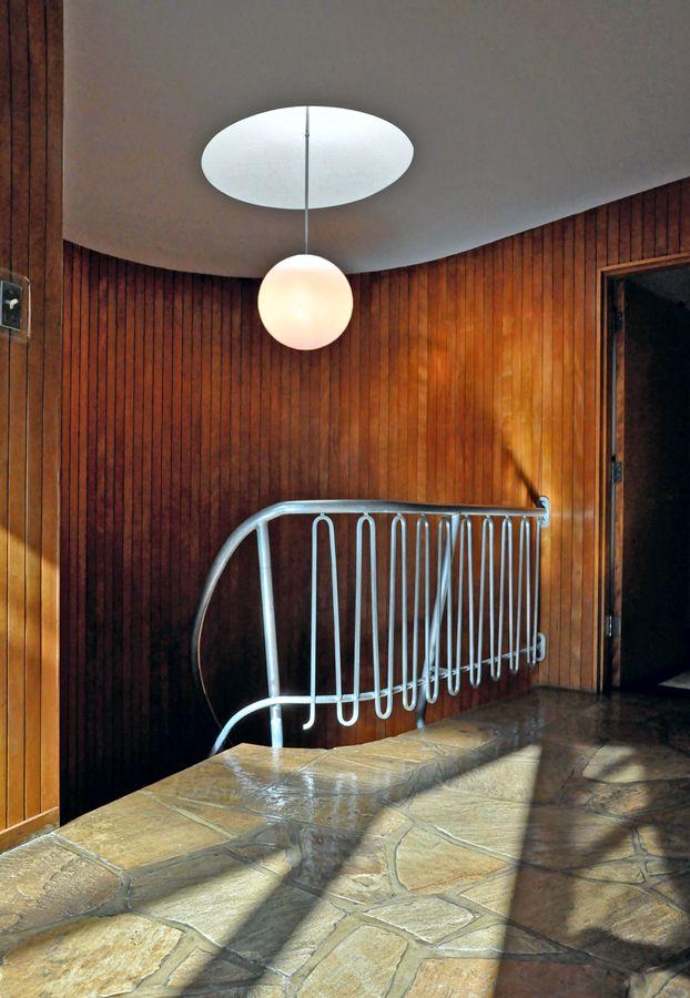 The Evens Residence, Harris Armstrong, 1951. Repinned by Secret Design Studio.  www.secretdesignstudio.com
