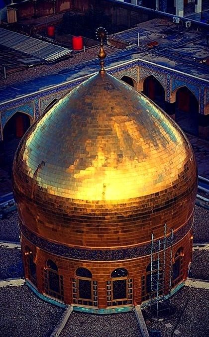 Dome of Zeinab bint Ali in Damascus, Syria (by HOOREIN)