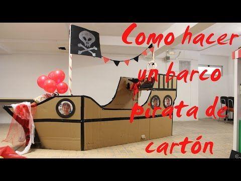 Fiesta de piratas infantil | rutchicote.com cómo hacer un barco pirata