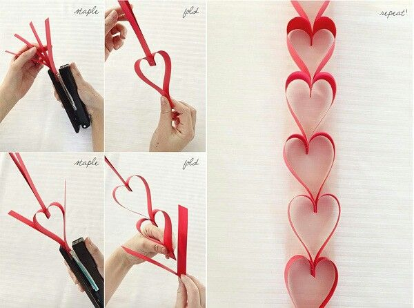 Valentinstag Herzen Girlande