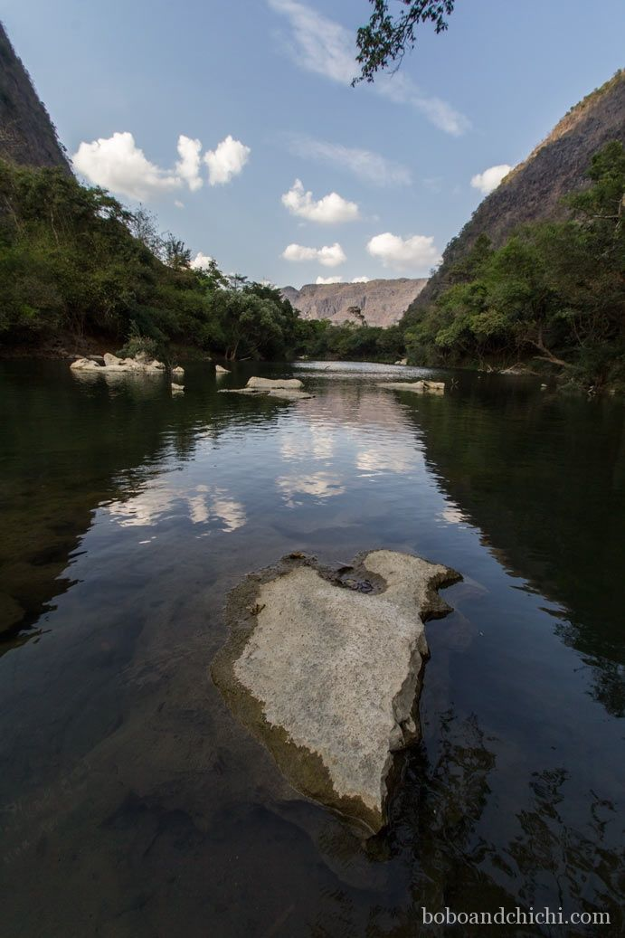 Thakhek's Cave Quest in Laos - Bobo and ChiChi - Falang River View in Laos