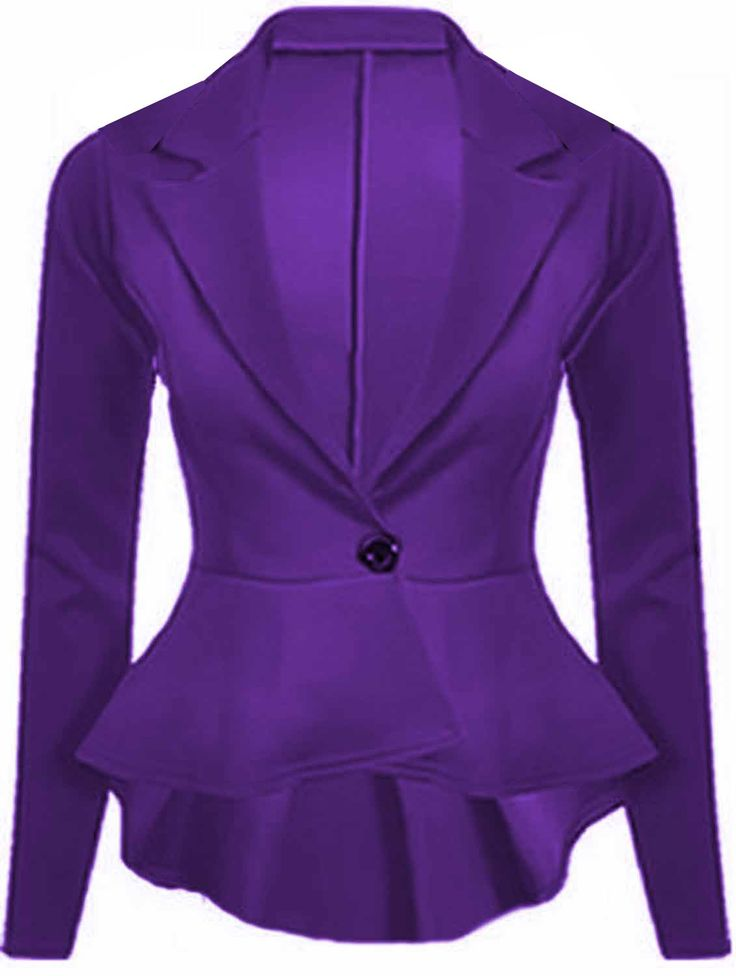 17 Best ideas about Purple Blazers on Pinterest | Purple jacket ...