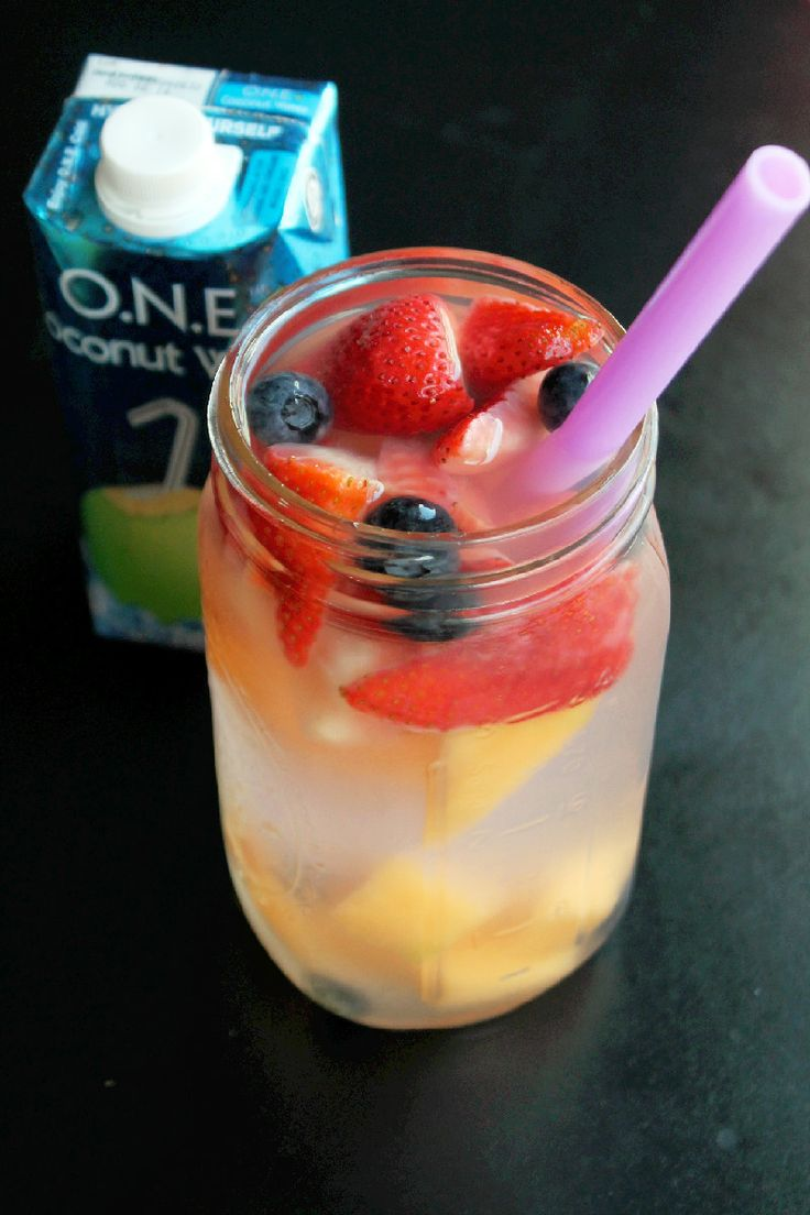 Melon Berry Coconut Spa Water