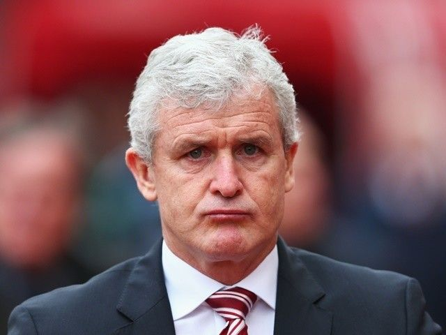 Mark Hughes: 'Stoke City performances not good enough'