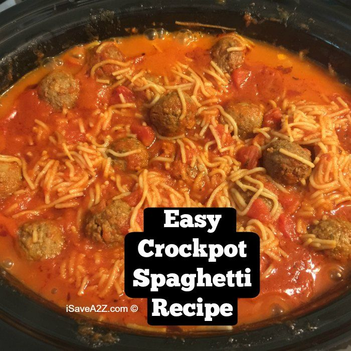 I have perfected an easy crockpot spaghetti recipe that tastes amazing! There are just a few tips to know to get it to come out perfect every time!