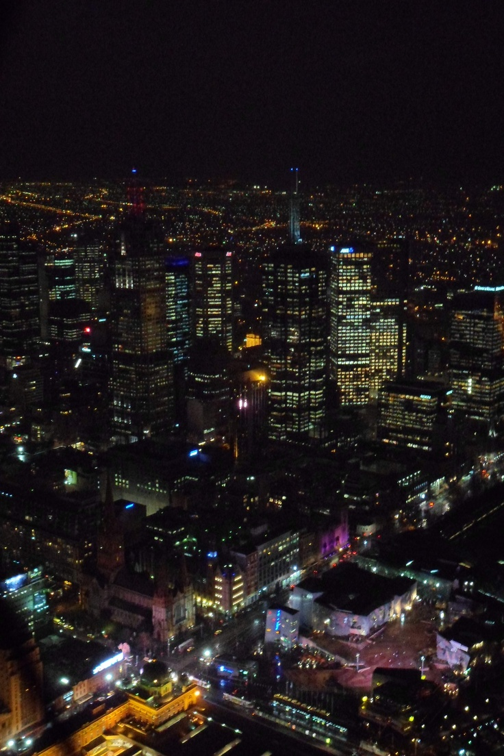 Melbourne from the Eureka Sky Deck