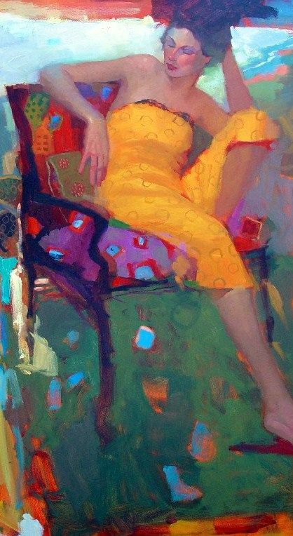 Michael SteinagleMichael Steirnagl, Figures Art, The Artists, Yellow Dresses, Michael Steinagl, Artists Inquiry, Painting, Beautiful Art, Inspiration Art