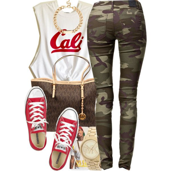 Nov 27, 2k13 by xo-beauty on Polyvore featuring polyvore fashion style 2nd One Converse MICHAEL Michael Kors Michael Kors Red Herring