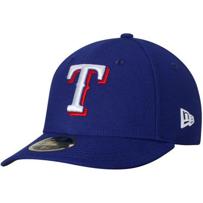 Texas Rangers New Era Game Authentic Collection On-Field Low Profile 59FIFTY Fitted Hat - Royal