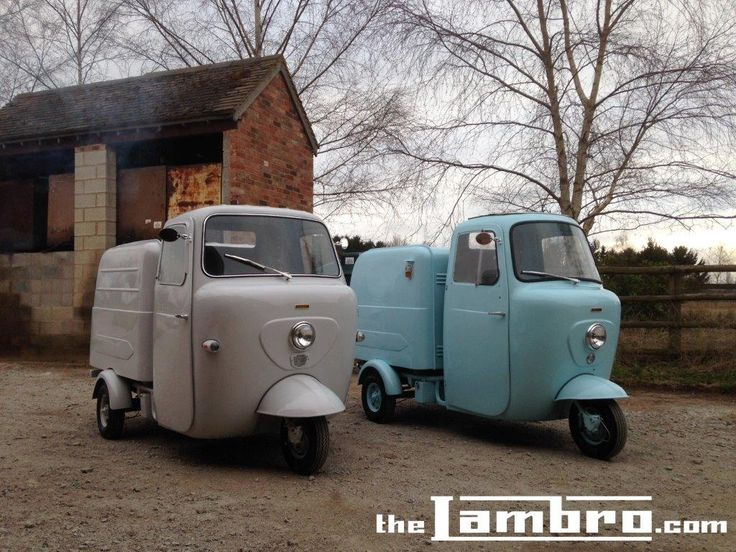 Lambretta Li 175 and FDC 150 Box Lambros