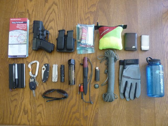 Le survivaliste: EDC - Every Day Carry.