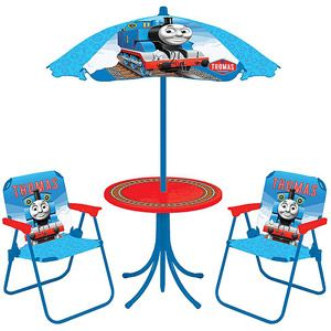 Thomas the Tank Engine 4-Piece Patio Set - Earn Free Walmart Gift Cards with the #JourneytoRewards Program!