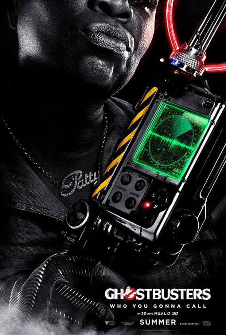New #Ghostbusters character posters
