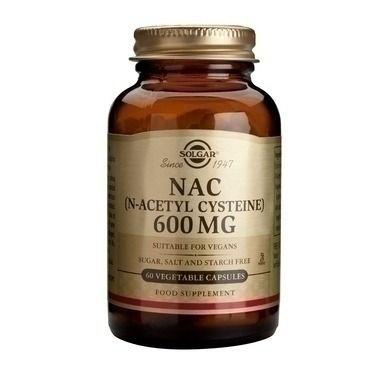 Το N-Acety-L-Cysteine (NAC) είναι ένα θειούχο αμινοξύ με ισχυρές αντιοξειδωτικές ιδιότητες. Προστατεύει το ήπαρ, βελτιώνει την αποτοξίνωση του ήπατος και των κυττάρων, βοηθά στην αποβολή των βαρέων μετάλλων και μπορεί να προλάβει την οξε...