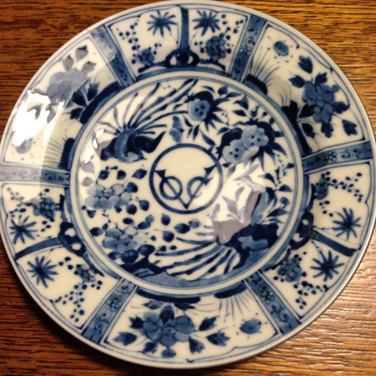 Replica of VOC (Dutch East India Company) logo plate - small purchased at Oedo Museum in Tokyo, Japan