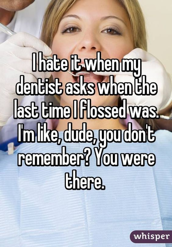 Don't let this be you! You miss cleaning almost half of your tooth surface if you don't floss daily! #flosslikeaboss Dr. Marc E. Goldenberg, Dr. Kate M. Pierce and Dr. Matthew S. Applebaum Pediatric Dental Office Greensboro,NC
