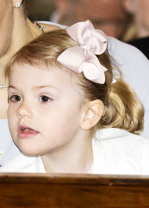 muchadoaboutroyals: Princess Estelle in one of her signature bows