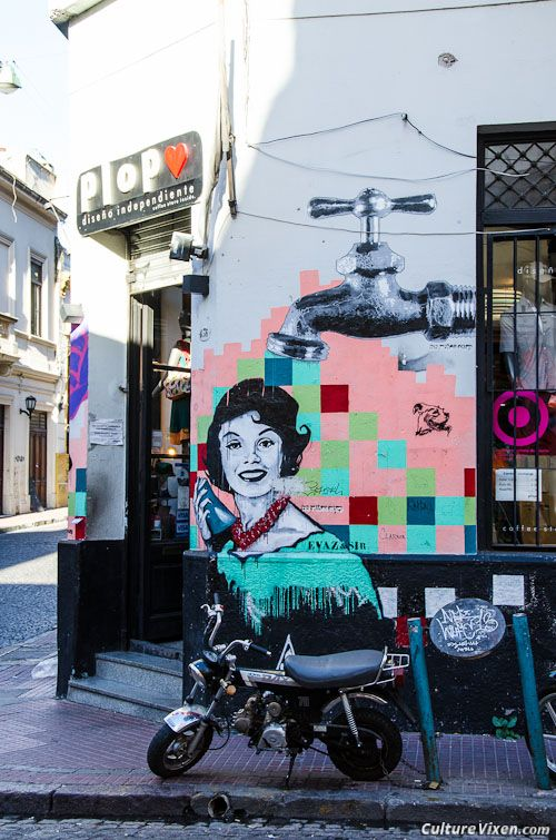 Buenos Aires, #Argentina-Street Art