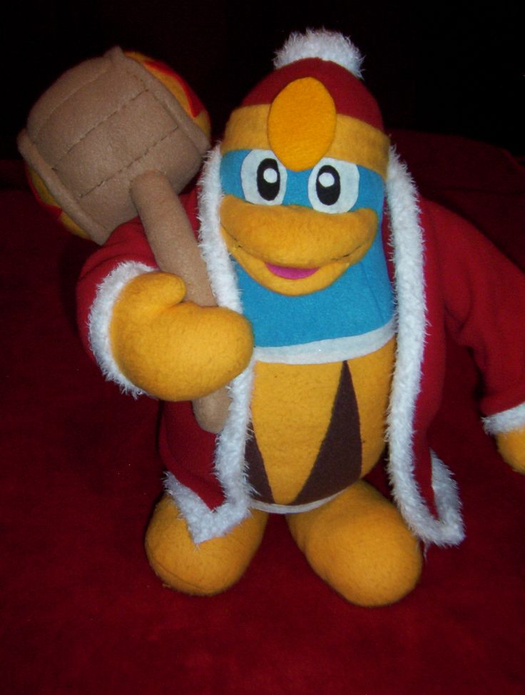 King Dedede From Kirby My Custom Plush Toys Pinterest