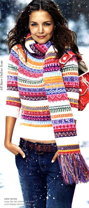 gap was ahead of its time- who remembers this campaign? I totally bought this scarf when i worked there... should bust it out now that the trend is back!