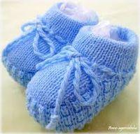 sapatinho de bebe em trico - Pesquisa Google