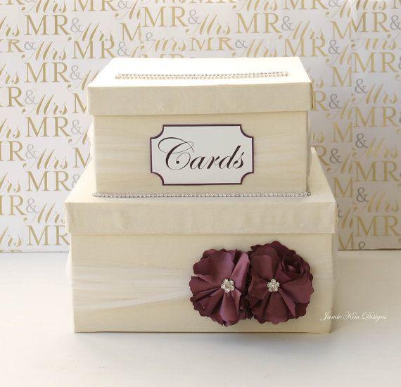 Pinterest Wedding Gift Card Holder : wedding card box gift card holder money card box gift card holder ...