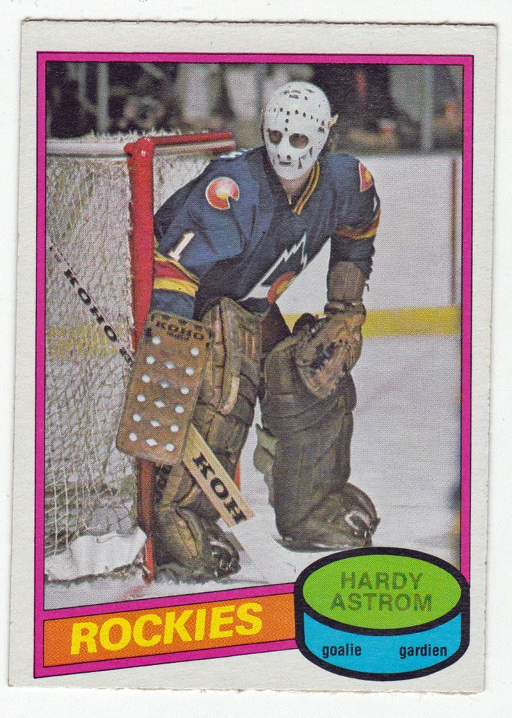 Hardy Astrom RC # 269 - 1980-81 O-Pee-Chee Hockey NHL Rookie