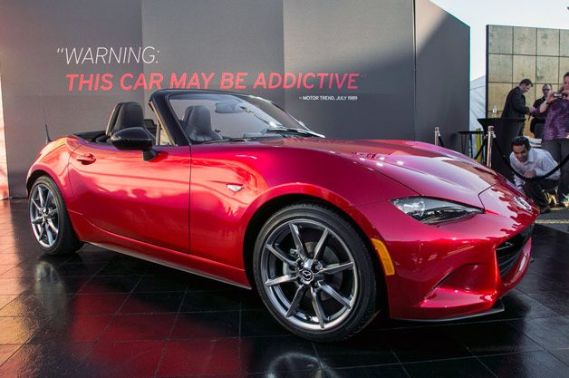 According to new rumors, the 2016 Mazda MX-5 Miata might not be offered with the power folding hardtop.