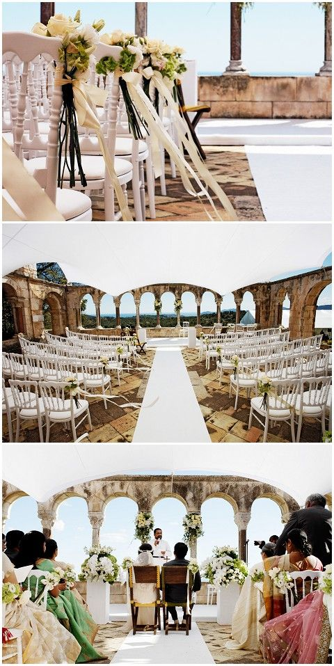 Destination wedding on the French Riviera
