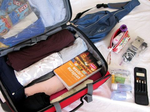 How to pack for 10 days with 1 carry-on suitcase.
