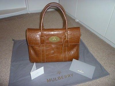 4b8364e5c3 ... coupon code mulberry bayswater printed veg tan handbag ebay eff7b 1c9c8  ...