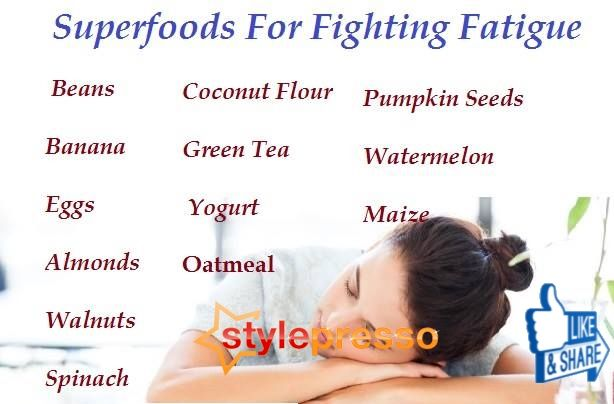 Superfoods For Fighting Fatigue