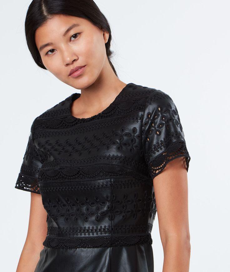 Robe courte évasée | Kira - Noir | Etam